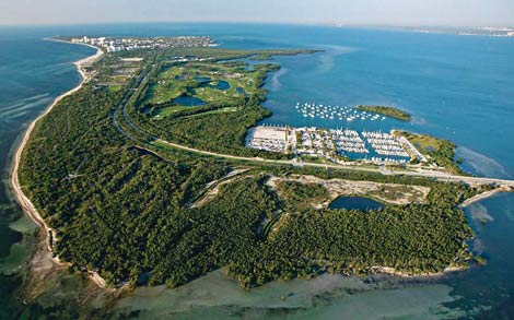 Parque natural Bill Baggs en Key Biscayne
