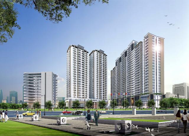Phối cảnh chung cư Sunrise Complex Chu Văn An