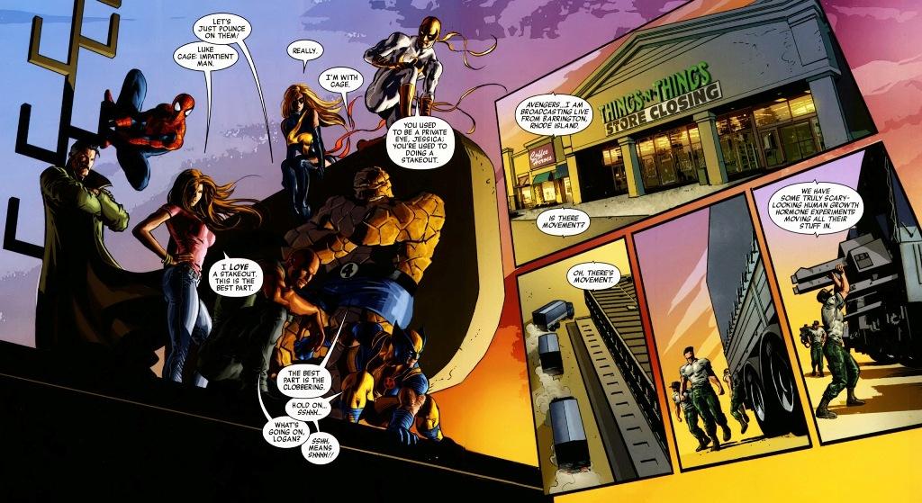 New Avengers V 2 09 10 Review border=
