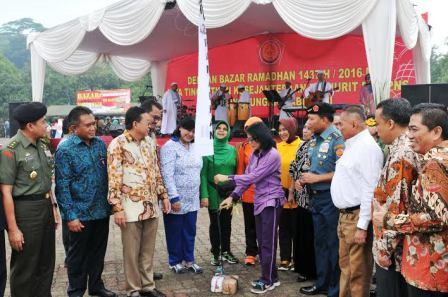 Panglima TNI : Bazar Sarana Memberikan Kesejahteraan Prajurit dan PNS TNI