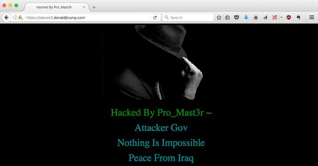 donald-trump-website-hacked
