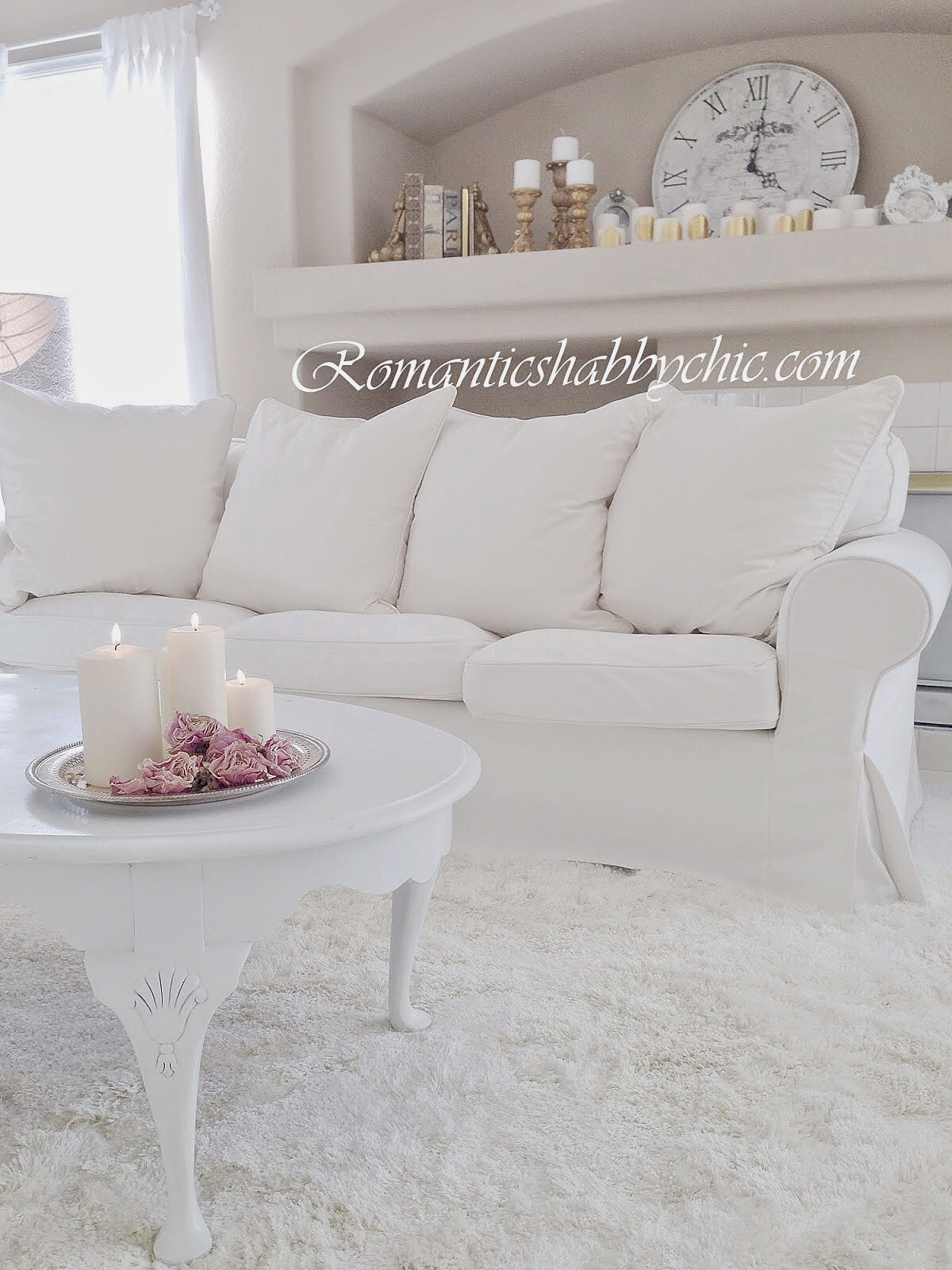 Shabby Chic And Eclectic Decorating Living Room: Romantic Shabby Chic Home: Romantic Shabby Chic : Pure