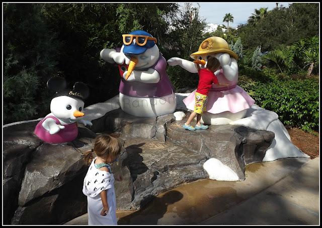 Melting Snowmen at Disney's Blizzard Beach