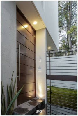 model daun pintu utama yang minimalis