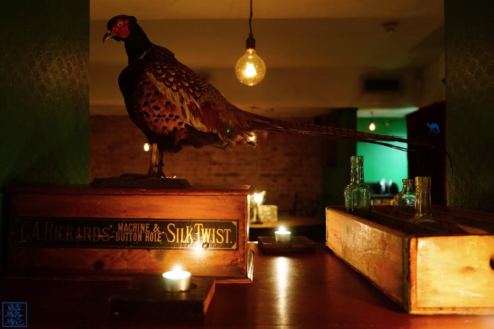 Le Chameau Bleu - Bar à Cocktail Evans & Peel à Londres