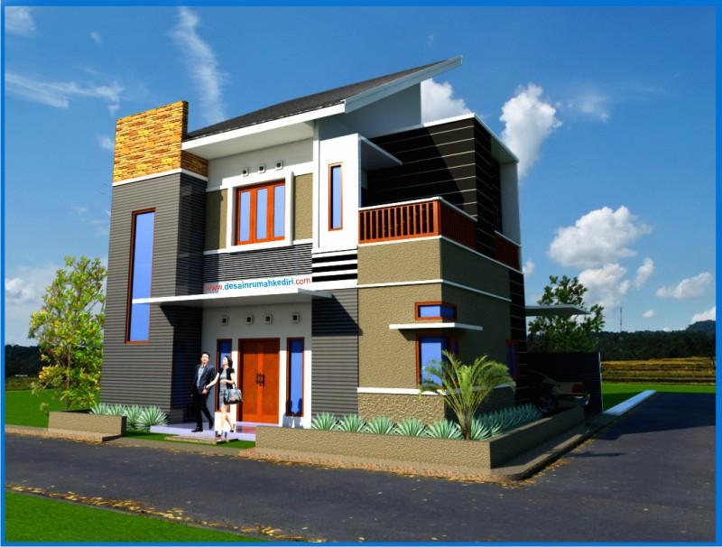 LT2 10 Rumah Minimalis Hook 2 Lantai Bandar Kidul Kota Kediri