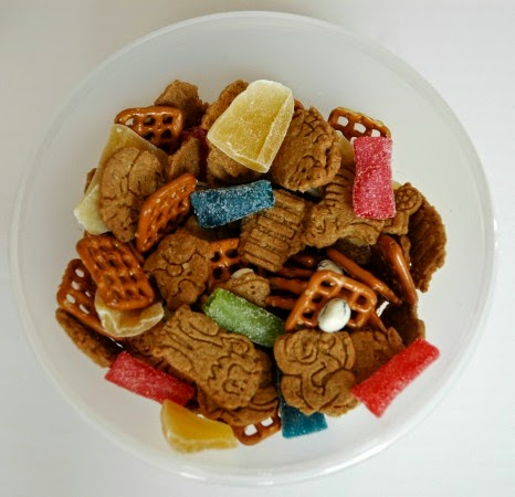 jungle snack mix for kids