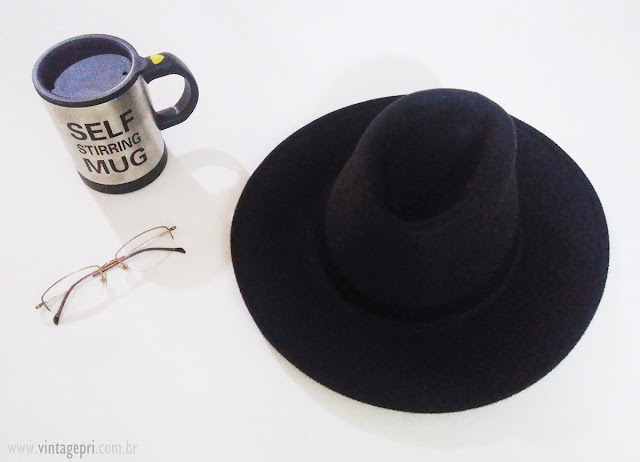 Chapéu Fedora Gângster by Chapelaria Vintage