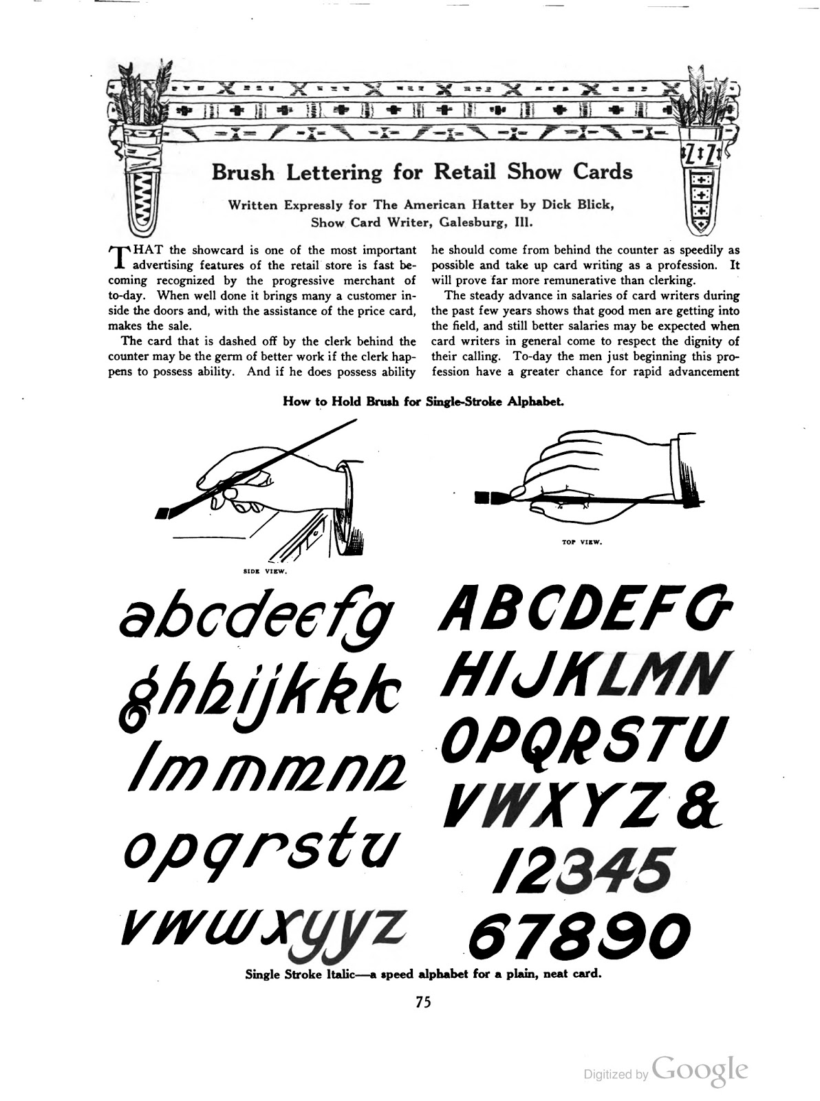 Tenth Letter Of The Alphabet Lettering Dick Blick Show Card