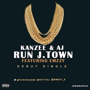 """""""RUN J. TOWN"""" - KANZEE & AJ (ft. EMZZY)"""