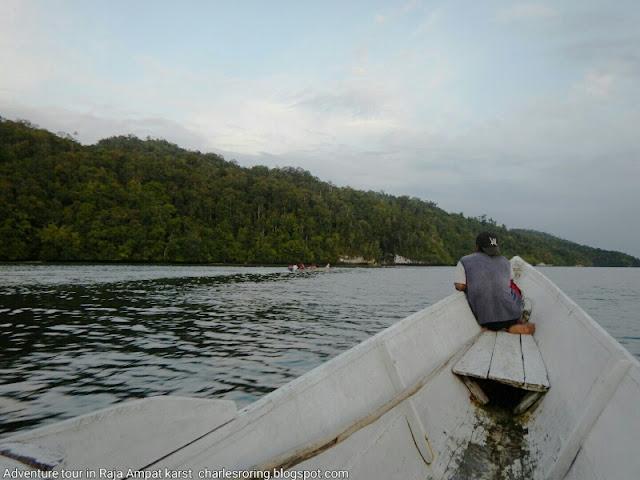 Traveling to Raja Ampat islands