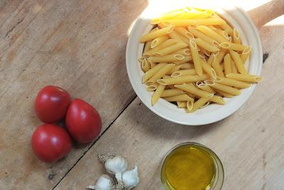 garlic pasta