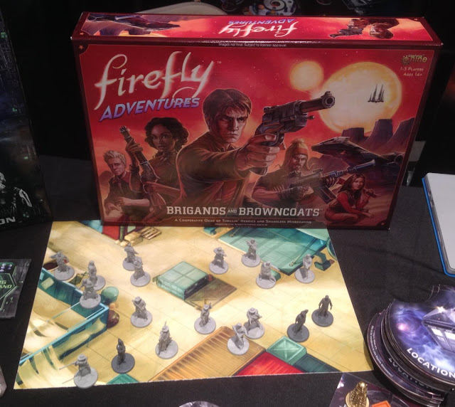 Gale Force Nine: Firefly Adventures - Brigands and Browncoats Miniature Boardgame
