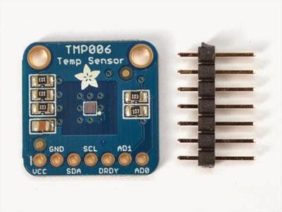 Sensor IR TMP006 - Detalhe Pinagem