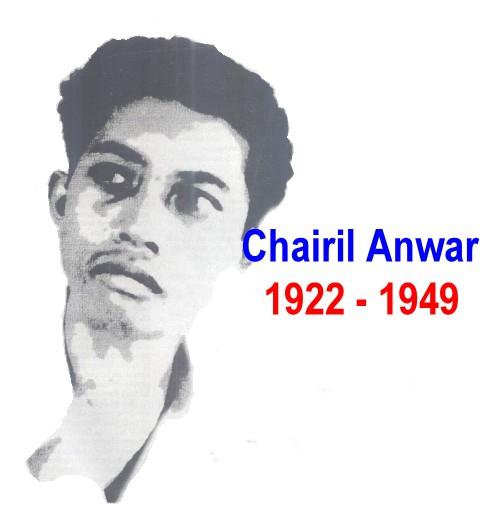 Biografi Chairil Anwar Tokoh Sastra Indonesia Kholidin Sharing