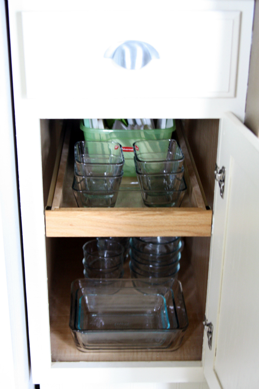 Storing Tupperware In Kitchen Cabinets