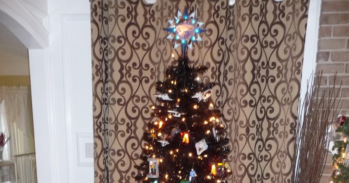 Things I Think I Think: Star Trek Christmas Tree