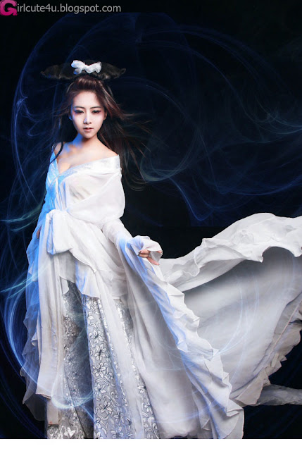 4 Zhao Sam - Ghost Story Nie Xiaoqian gentle wan and weak-Very cute asian girl - girlcute4u.blogspot.com
