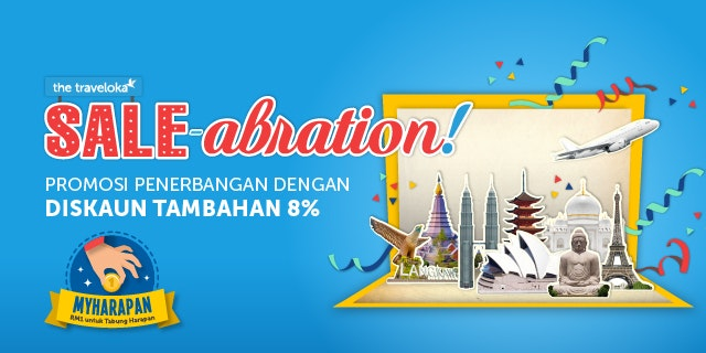 Traveloka Sale-abration 2018