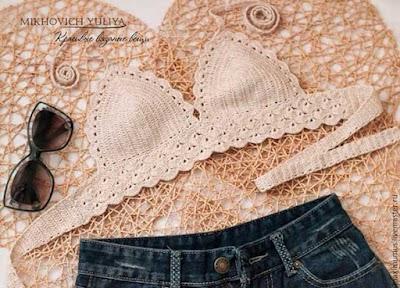 Bikinis Malla y muchas más prendas de playa a crochet