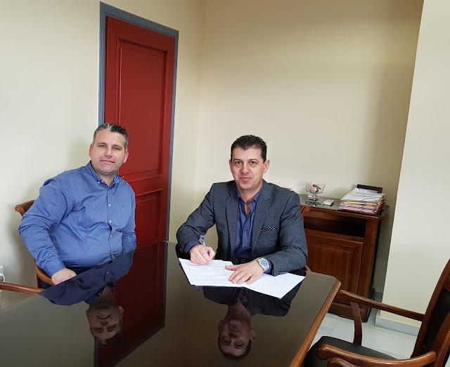 Γιάννενα: Δήμος Δωδώνης - Υπεγράφη Η Σύμβαση Για Την Ανακατασκευή Των Παιδικών Χαρών