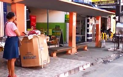 Jovem é morta em ponto de ônibus perto da rodoviária de Feira de Santana