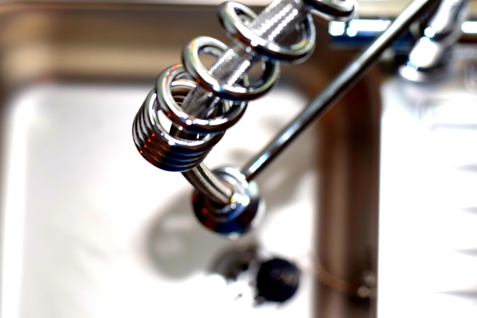 A New Kitchen Sink And Taps