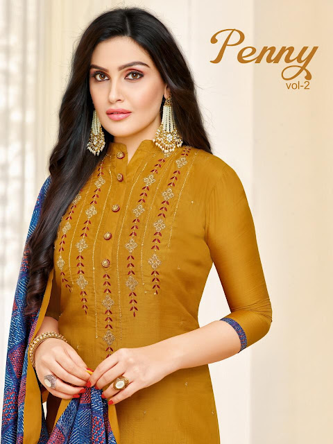 Moof Fashion penny vol 2 Nx Churidar Salwar kameez