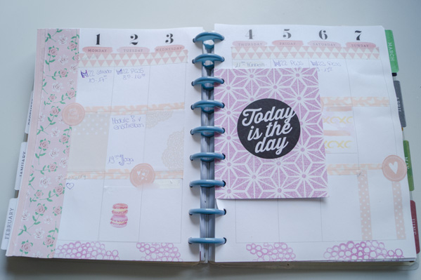 Planner Decoration