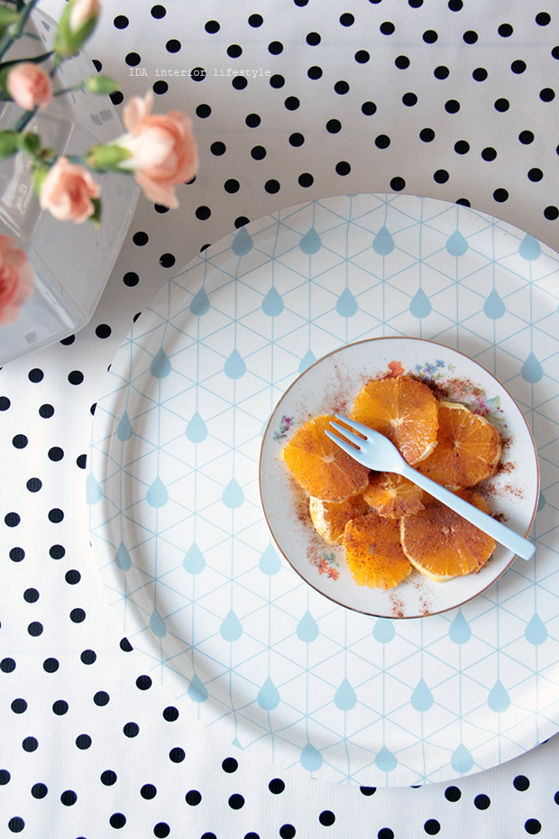 Oranges, cinnamon and Zilverblauw