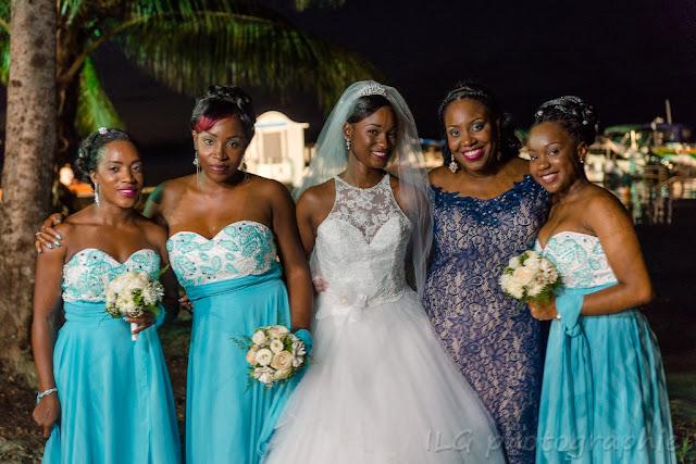 mariage Guadeloupe demoiselles d'honneur