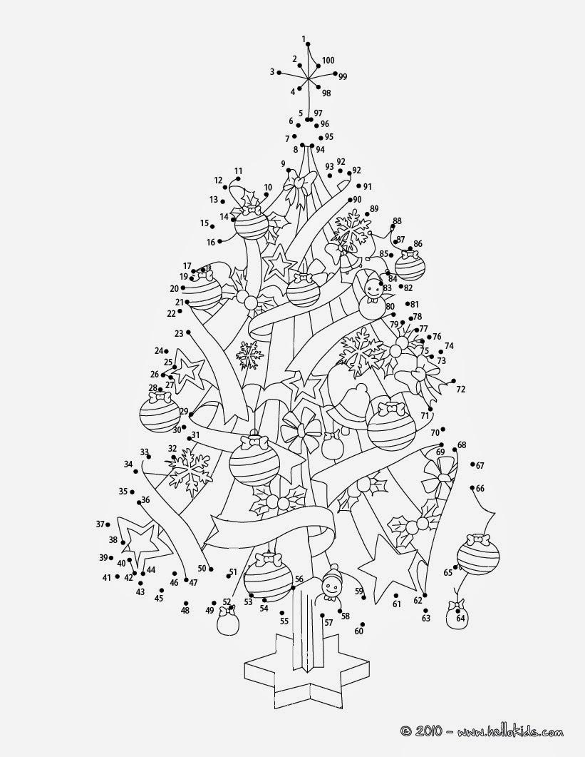 Disegni Di Natale Da Unire Con I Puntini.Giochiecolori It Maestro Fabio Disegni Di Natale Da Colorare Unisci I Puntini