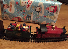 north pole carriage for santa express