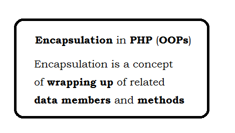 Encapsulation in PHP (OOP)