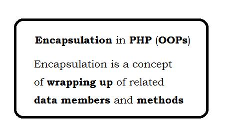 Encapsulation in PHP (OOP)
