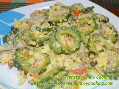 Ginisang Ampalaya with Pork - Recipe