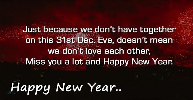 Happy New Year Sad Status For WhatsApp