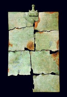 Etruscan Tabula cortonensis