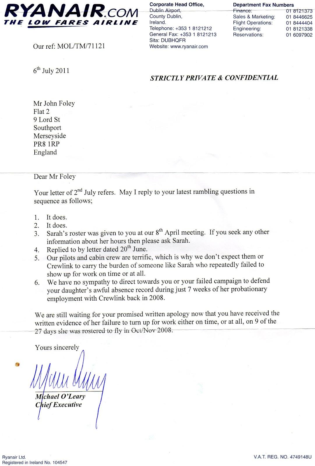 Letter Of Application Letter Of Application Cabin Crew