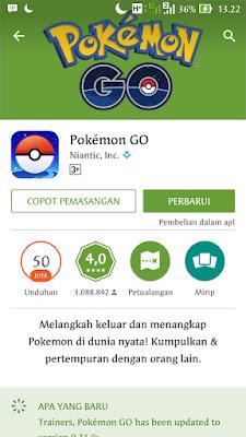 Pokemon GO Resmi Rilis Di Negara Indonesia