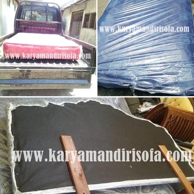 pemasangan cover dan kain puring