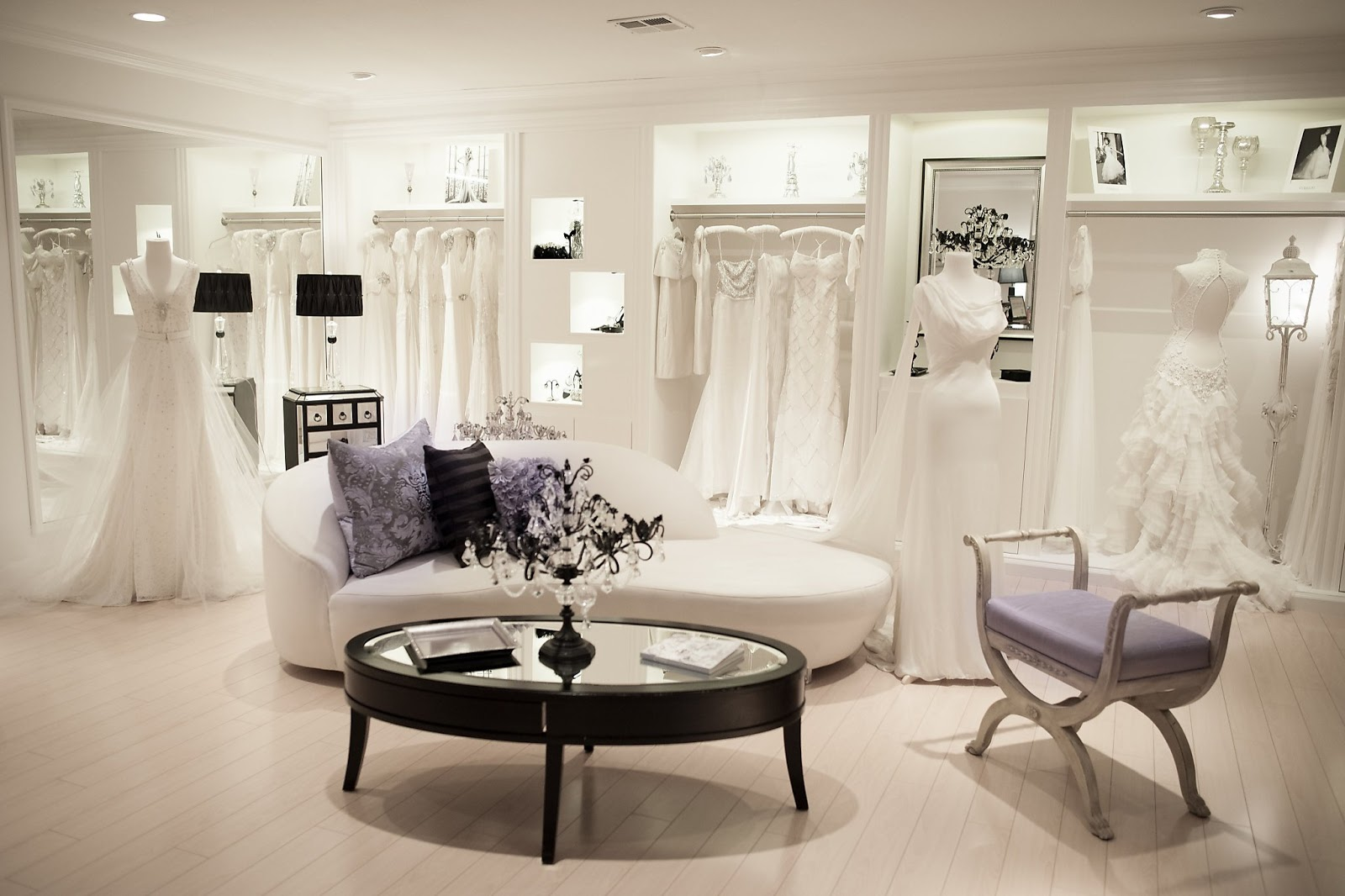 The ultimate wedding dress guide make your salon visits for Wedding salon