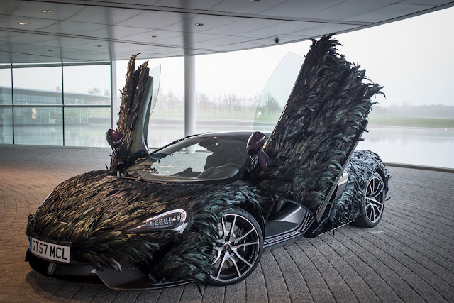 2017 McLaren 570GT with Featherweight Wrap - #McLaren #570GT #tuning #supercar
