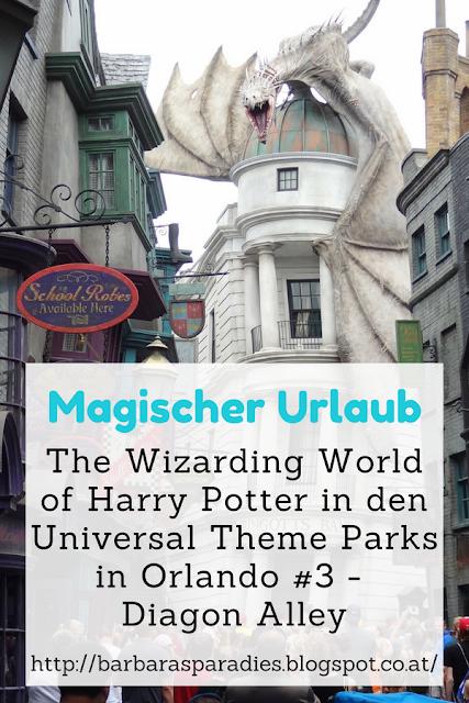 Magischer Urlaub: The Wizarding World of Harry Potter in den Universal Theme Parks in Orlando #3 - Diagon Alley