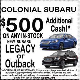 Cyber Monday Deals Colonial Subaru
