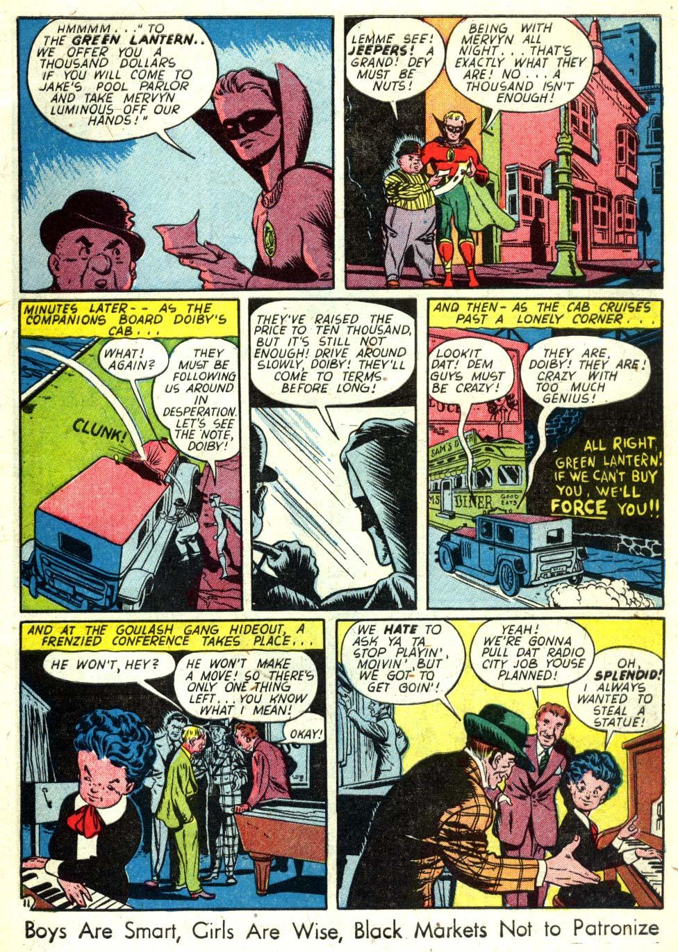 Read online All-American Comics (1939) comic -  Issue #58 - 12