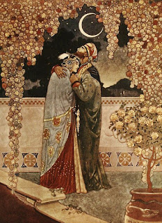 Arabian nights-Edmund Dulac