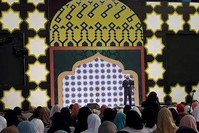 Ribuan Masyarakat Bandung Antusias Hadiri Ceramah Zakir Naik