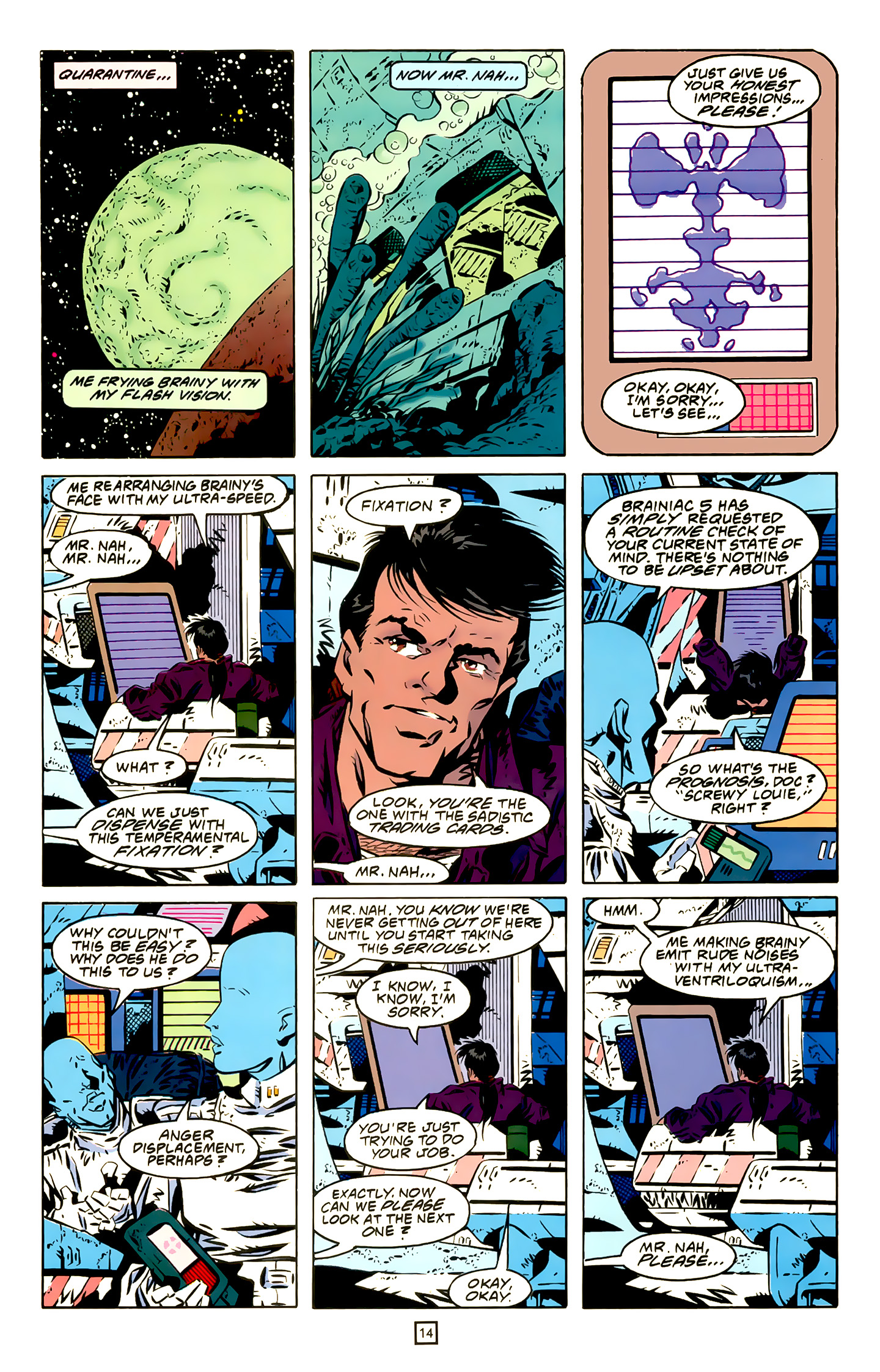 Legion of Super-Heroes (1989) 20 Page 14