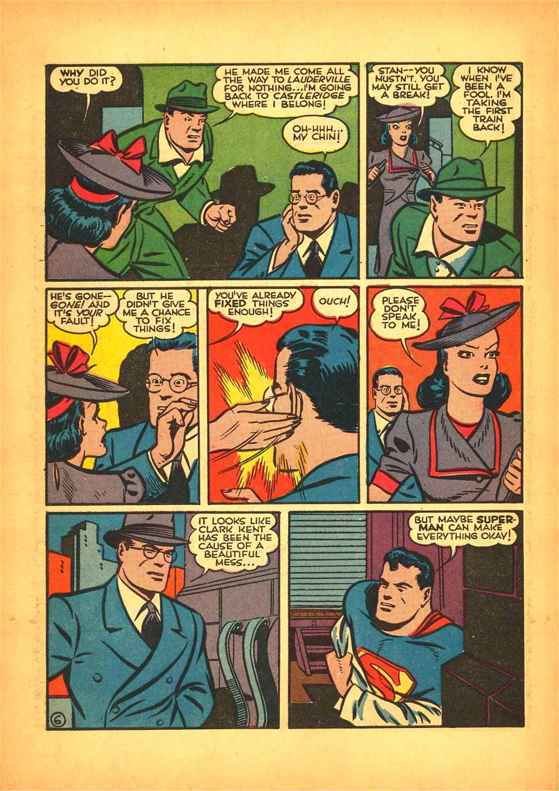 Read online Action Comics (1938) comic -  Issue #50 - 8